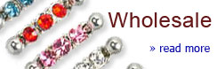 Wholesale body piercing jewelry