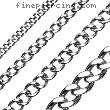 316L Stainless Steel Chain Necklace